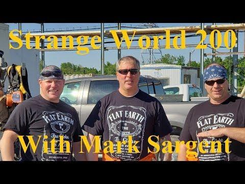 Flat Earth & Strange World hit episode 200 SW200 Mark Sargent ✅ thumbnail