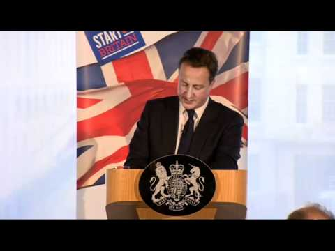 David Cameron calls for popular capitalism