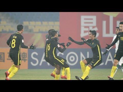 Highlight Malaysia Game AFC U23 Championship 2018