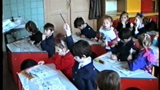 Осиповичи 1993г. Урок в 1 классе! Школа №3 г. Беларусь