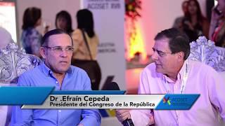 Presidente del Congreso de la República habla con Presidente de Acoset
