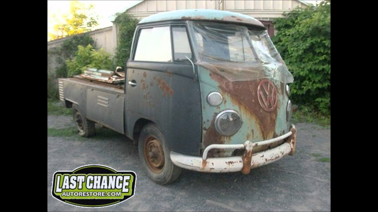 1963 Classic Vw Single Cab For Sale Project Truck