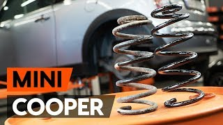 Fitting Brake shoe kits MINI MINI (R50, R53): free video