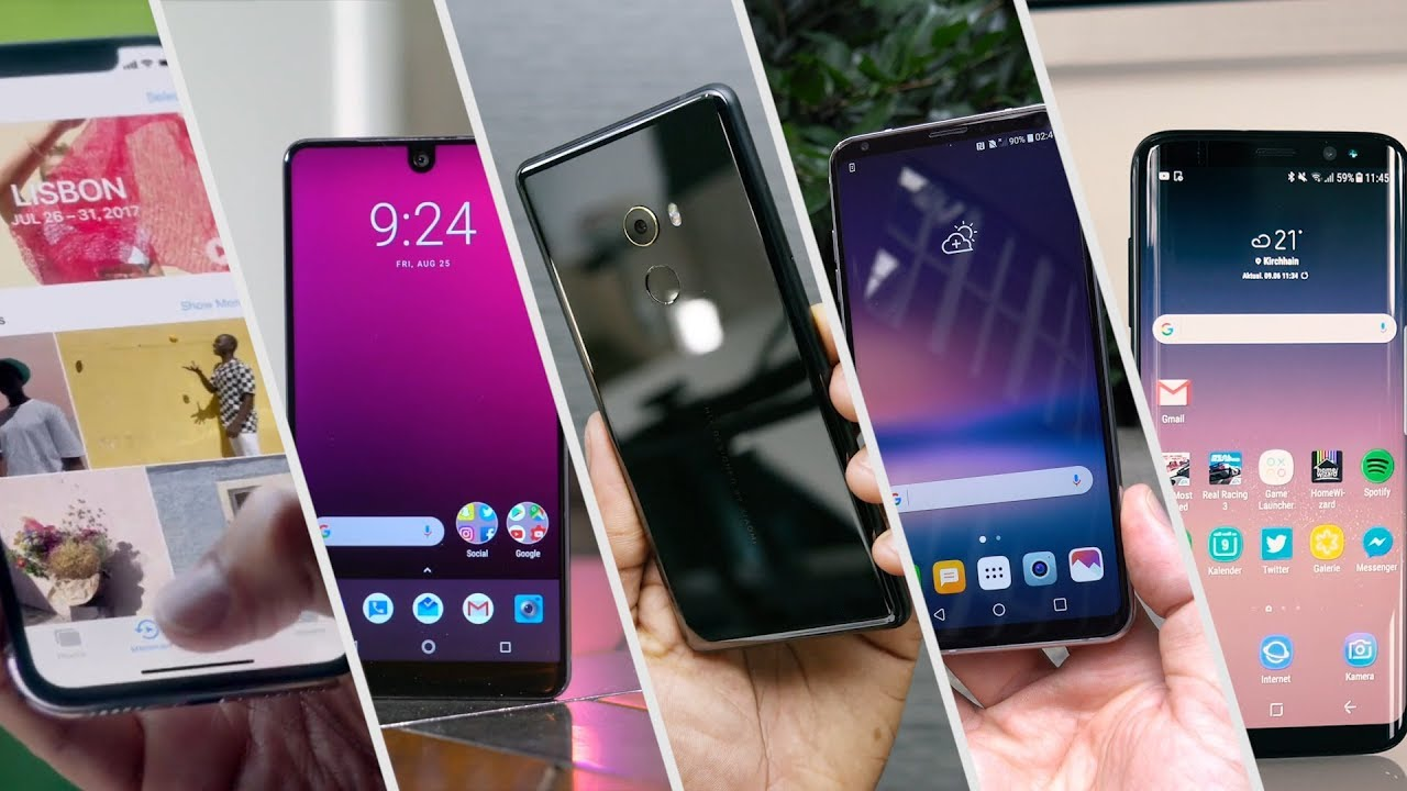 Apple IPhone X 4 Alternative Android Smartphones