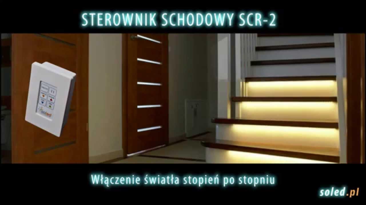 Inteligentne Oświetlenie Schodów Sterownik Soled Podświetlenie Schodów Led