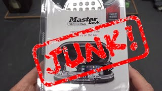 (1530) Review: Master 5900D Personal Safe (JUNK!)