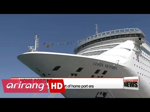 Korean cruise line marks start of home port era