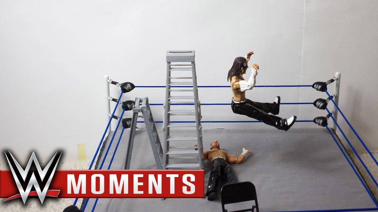 wwe wrestlemania 25 jeff hardy vs matt hardy youtube