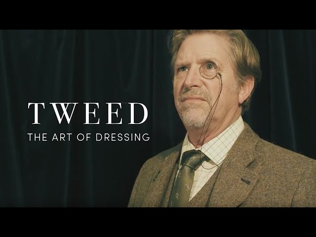 How To Wear Tweed (The Art Of Dressing)