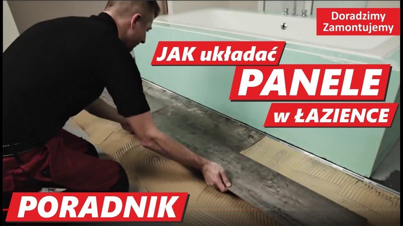 Jak Montować Panele W łazience Układanie Paneli Winylowych Design Egger Na Klej W łazience Z Wanną
