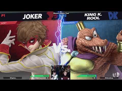 Smash Quarter 124 - Winner's Quarters - InfernoKong (King K. Rool) VS Tigerton (Joker)