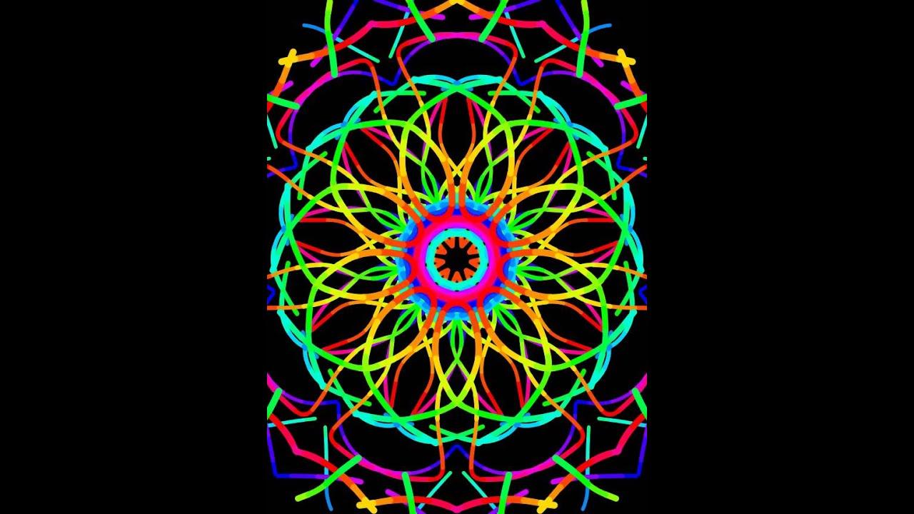 kaleidoscope drawing so easy youtube