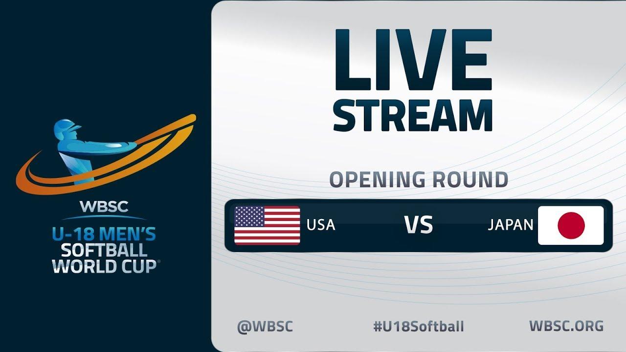United States v Japan - U-18 Men's Softball World Cup 2020 - Opening Round