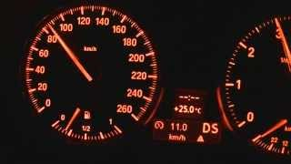 BMW320Iツーリングの0キロからべた踏みの100キロまでの 加速です。...