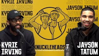Kyrie Irving and Jayson Tatum join Knuckleheads with Quentin Richardson & Darius Miles