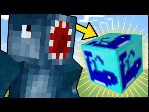 Minecraft MOD WHALE LUCKY BLOCK Mod Showcase