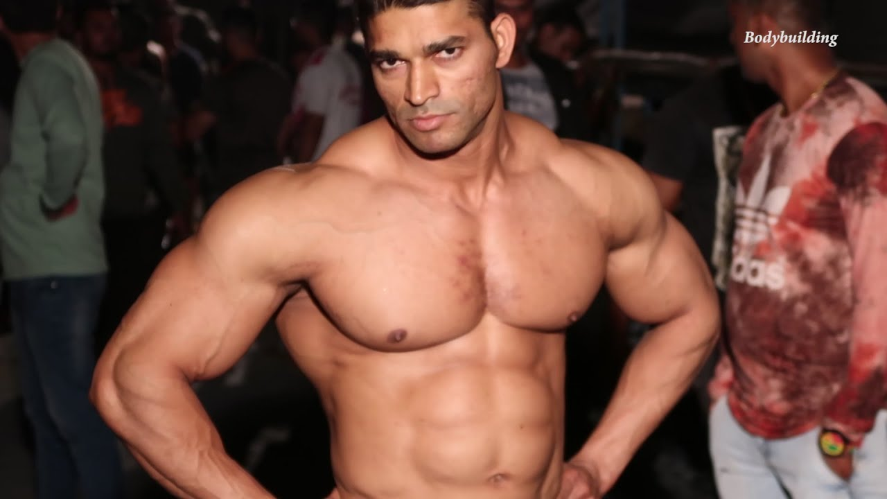 Devendra Bhoir Best Performance Bodybuilding Competition