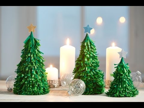 weihnachtsdeko aus papier youtube. Black Bedroom Furniture Sets. Home Design Ideas