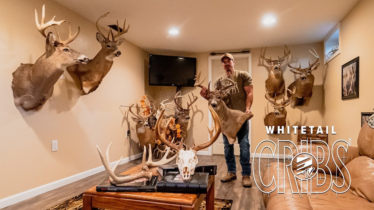 Ohio Whitetail Man Cave! Whitetail Guide Turned Mobile Hunter - Whitetail Cribs