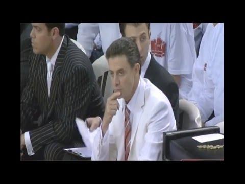 Louisville vs #6 Georgetown 2008 (Full Game)