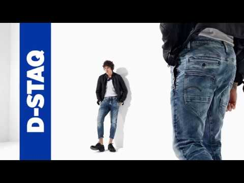71481d50fea G-Star RAW D-Staq Jeans - YouTube