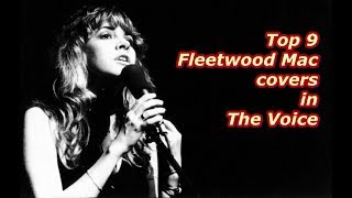 Top 9 - Fleetwood Mac covers in The Voice MP3