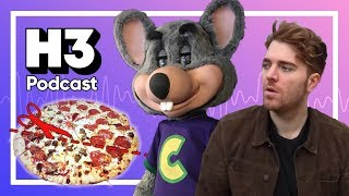 Shane Dawson vs Chuck E. Cheese Pizza Lies - H3 Podcast #104