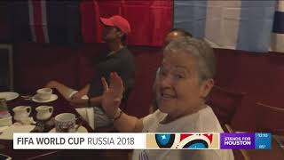 Fans enjoy watching World Cup matches in Houston restaurants, bars