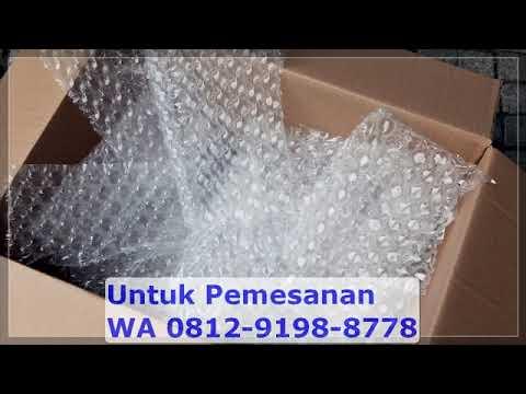 WA 081291988778 Agen Bubble Wrap Jakarta Barat - YouTube