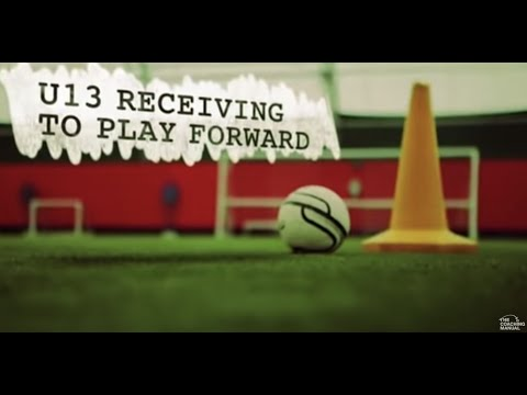 Soccer Drills: Receiving To Play Forward
