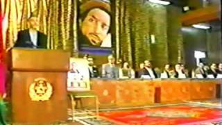 6th year Anniversary of Prime Minister A.R. Ghafoorzai Kabul, Afghanistan 8/23/03 part 1.