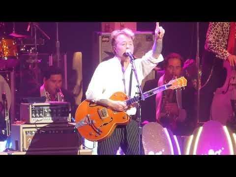 """Rock This Town"" Brian Setzer Orchestra@Academy of Music Philadelphia 11/17/17"
