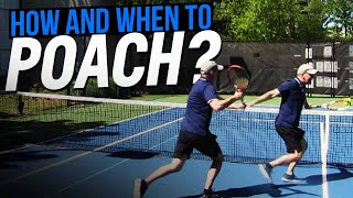 Doubles Lesson: How and When to Poach