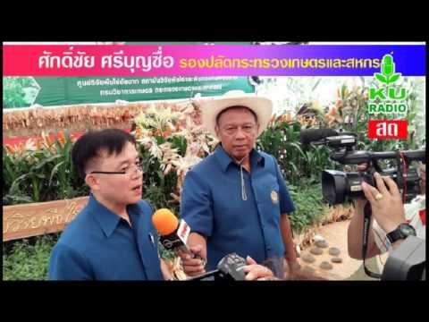 รายการร่วมแรงร่วมใจ 8 มีนาคม 2559 สถานีวิทยุ ม.ก.