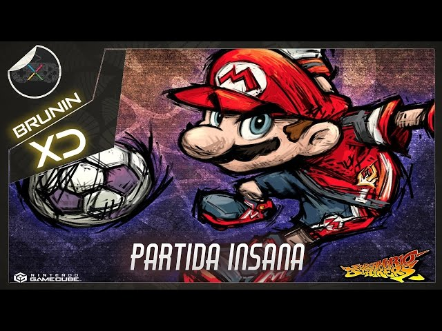 Super Mario Strikers - Partida insana