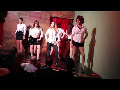 Rose City School of Burlesque Group Routine (Set A)