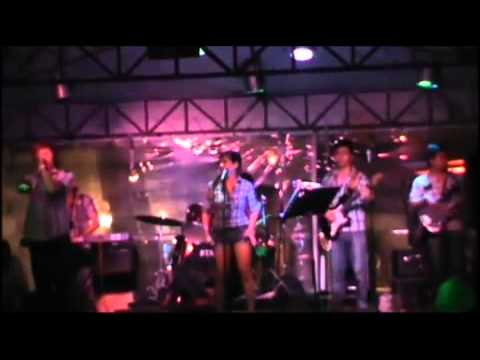 hotlist Band performing international love by Chris Brown and Pittbull Live COVER