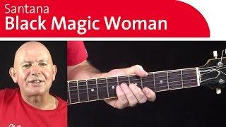 3 Guitar Riffs from Black Magic Woman - Guitar Improvisation