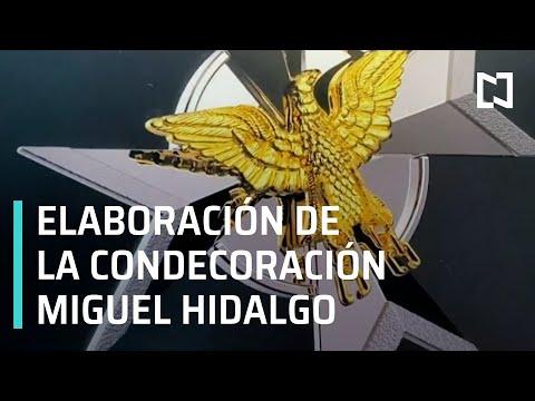 Artesanos de Guerrero elaboran Condecoración Miguel Hidalgo