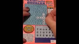 CASHWORD DOUBLER NY lottery ticket #2