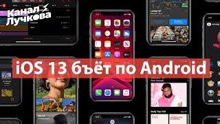 iOS 13 - ТЫ Свалишь с ANDROID