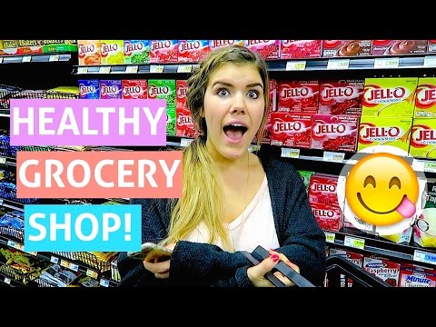 HEALTHY GROCERY SHOP WITH ME! // vlogust day 5