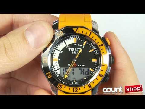 Tissot T-Touch Sea-TouchT026.420.17.281.02 - review by DiscountShop