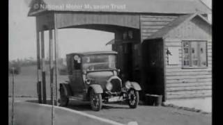 The First AA Roadside Petrol Station 1920