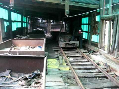 Trolley Mine Locomotive