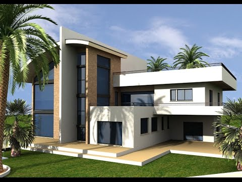 Curso de sketchup em portugu s parte1 youtube for Fachadas de casas modernas tropicales
