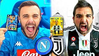 JUVENTUS vs NAPOLI DISCARD CHALLENGE con le ADRENALYN XL 2019!