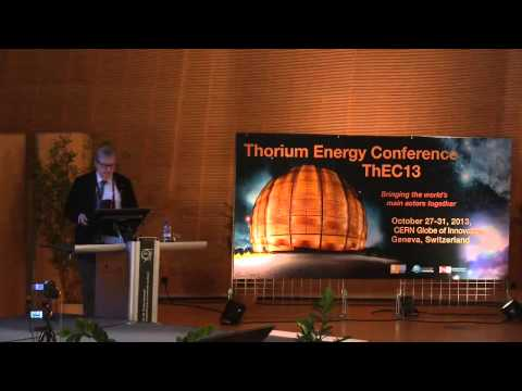 A Future for Thorium Power   Carlo Rubbia   IASS   ThEC13