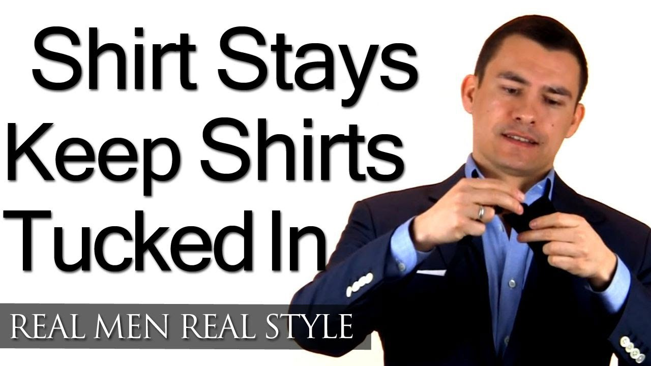 Mens Shirt Stays Secret Weapon To Keep Your Dress Shirt Tucked In