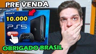 A PRE-VENDA ABSURDA DO PLAYSTATION 5 CHEGANDO A 10.000 REAIS